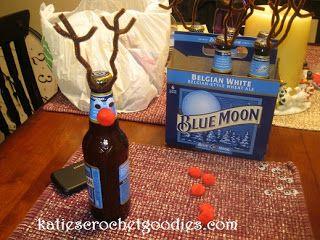 Reindeer Beer Christmas Gift