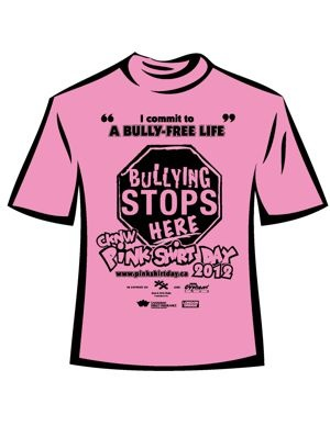 17 best Pink Shirt Day images on Pinterest | Anti bullying, Pink ...