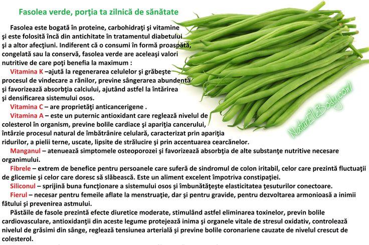 Fasolea verde, porţia ta zilnică de sănătate