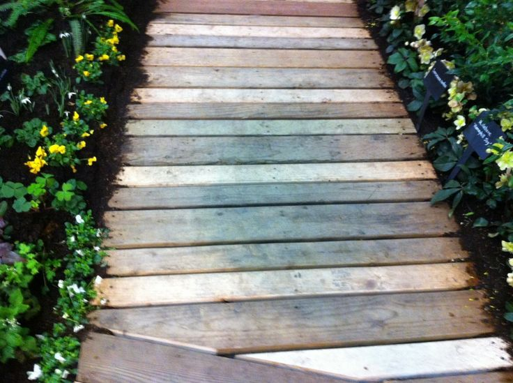 Boardwalk Using Salvaged Wood By Innovative Landscape Technologies Amazing Pictures