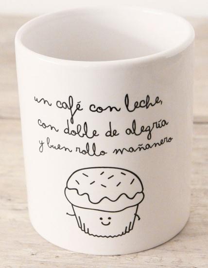 Taza con superpoderes para que el café te dé el doble de energía y cantidad de buenrollo