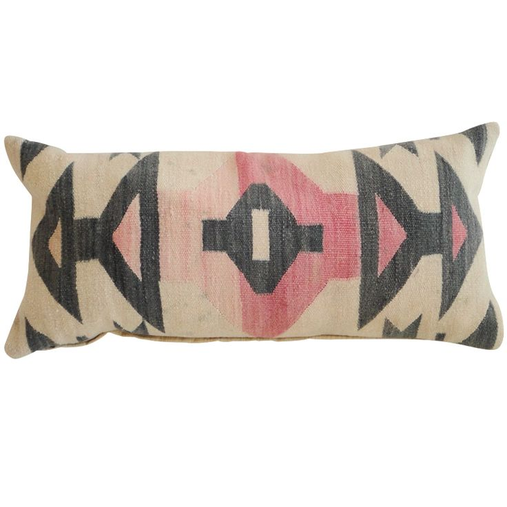 Navajo pillow (i did not caption this, but i am rather curious if this is from a navajo tribe, a traditional navajo print, or just a generalization.)