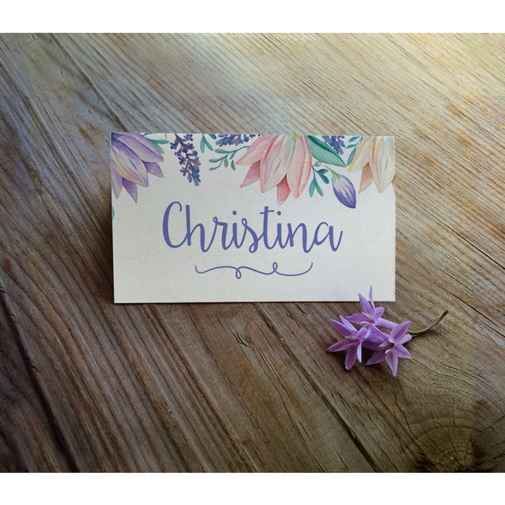 One of my favourites place cards from