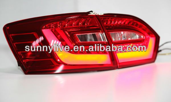 2011-2014 year VW New Jetta MK6 LED Taillights Tail Lamps Red Color BZWV1