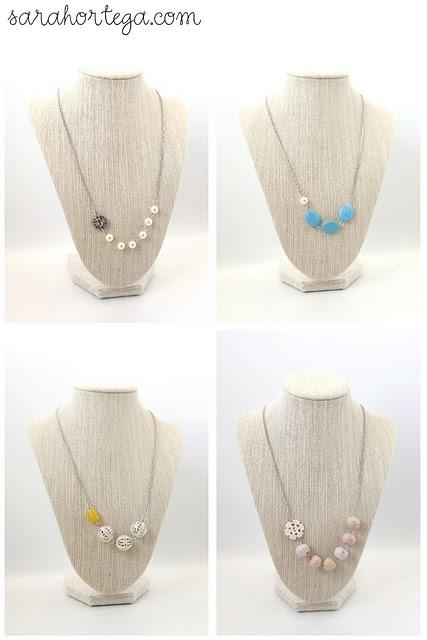 sweet: Crafts Ideas, Necklaces Tutorials, Diy Necklaces, Jewelry Crafts, Beads Necklaces, Colleges Diy, Sarah Ortega, Diy Asymmetrical, Asymmetrical Necklaces