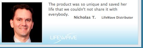 On #LifeWave patch technology.