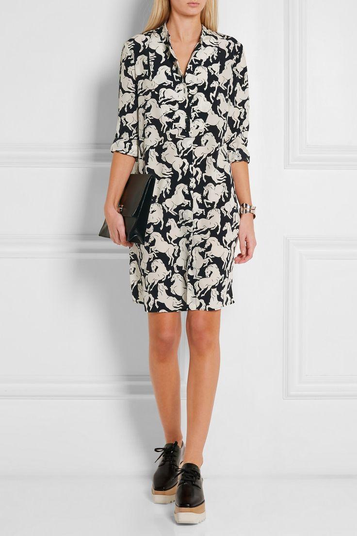 Stella McCartney | Shereen printed silk crepe de chine dress | NET-A-PORTER.COM