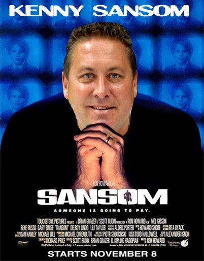 Sansom, starring Kenny Sansom
