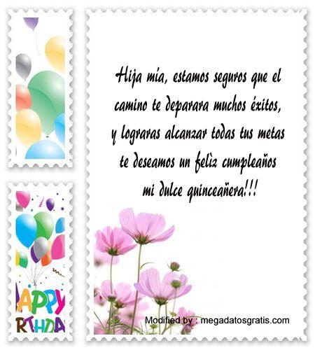 dedicatorias para quinceañera,bajar bonitos poemas para quinceañera: http://www.megadatosgratis.com/palabras-para-el-brindis-de-quince-anos/