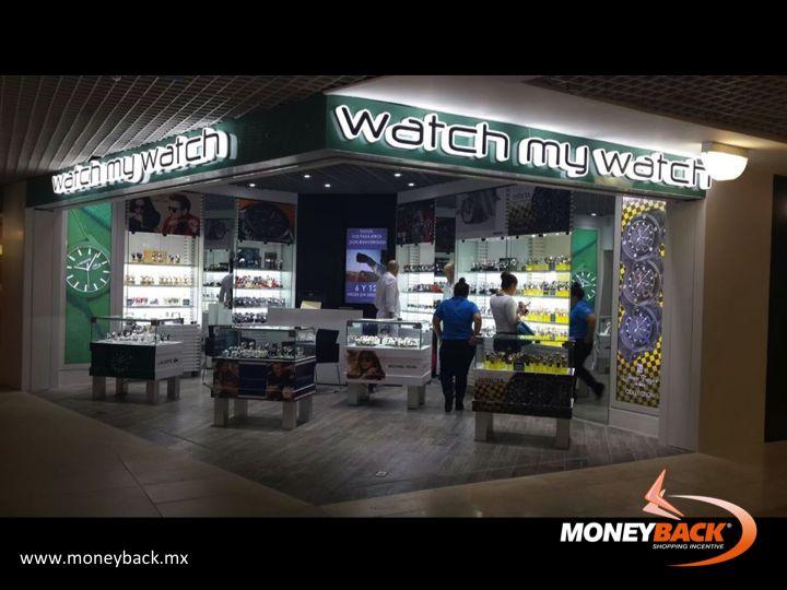 Watch My Watch es una cadena de tiendas de relojes con más de 30 tiendas distribuidas en las principales zonas turísticas de México: Cancún, Playa del Cármen, Chetumal, Cozumel, Veracruz y Los Cabos. Vendiendo marcas Fossil, Freestyle, Flik Flak, Hugo Boss, Icewatch, Invicta, Juicy Couture, Kenneth Cole, Lancaster, Strumento Marino y muchas más. ¡Compra y obtén un reembolso de impuestos! #taxfreeshopping #moneyback #devolucióndeimpuestos #viajeamexico