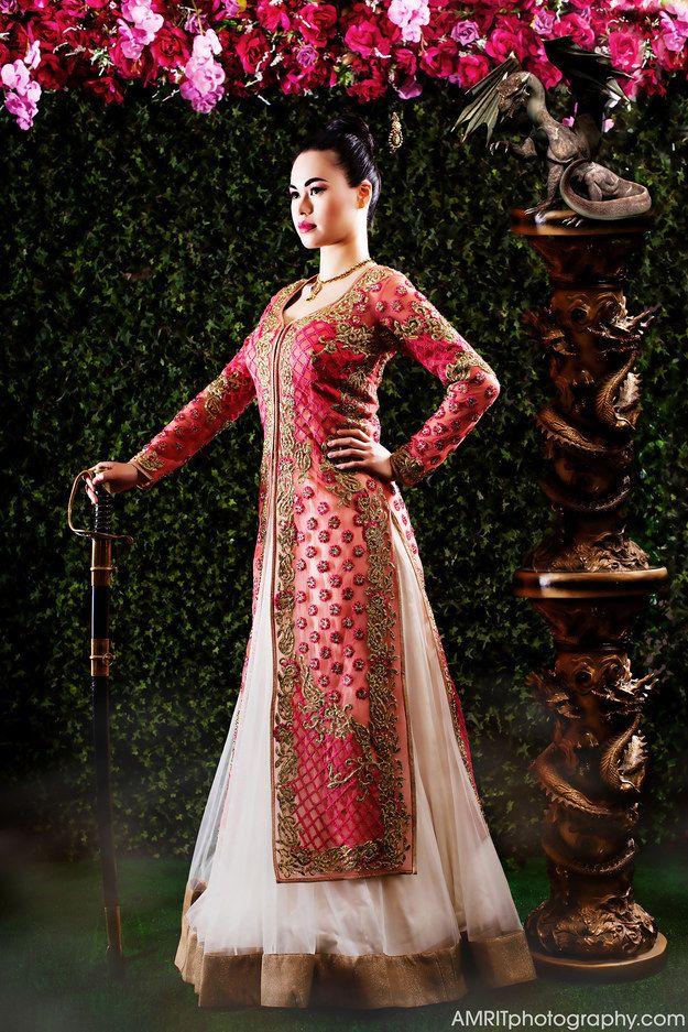 Mulan - 9 Stunning Photographs That Reimagine Disney Princesses As Indian Brides