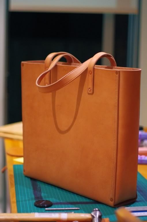 Ped's & Ro Leather Blog: Project: Tote bag