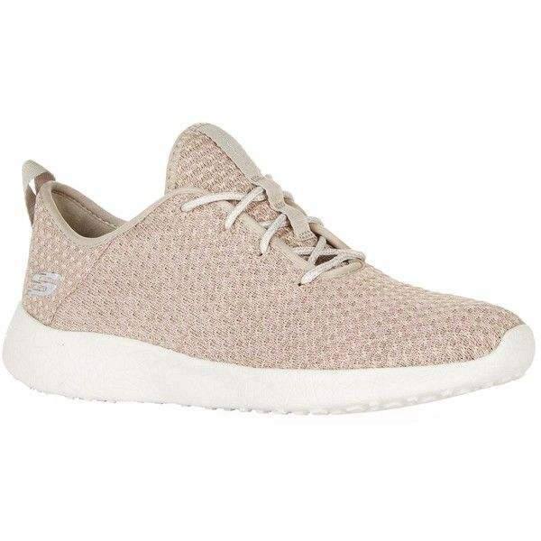 Skechers Burst City Scene Sneakers (€73) ❤ liked on Polyvore featuring shoes, sneakers, grip trainer, skechers footwear, flexible shoes, knit shoes and skechers