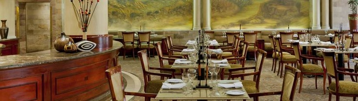 Magnolia Restaurant in the Sheraton Pretoria Hotel