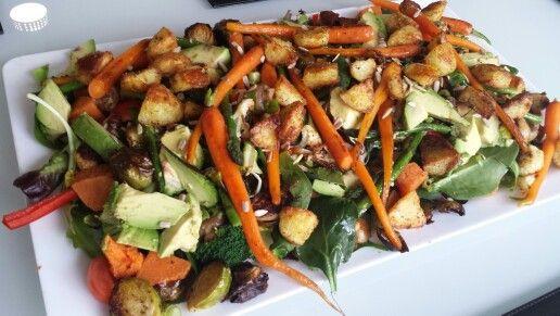home made super salad