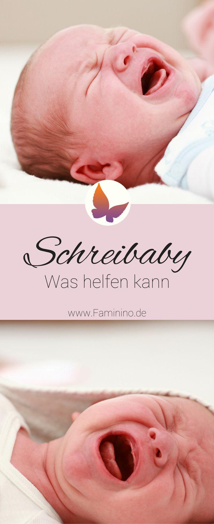 Dein Baby schreit viel? Das kann helfen!