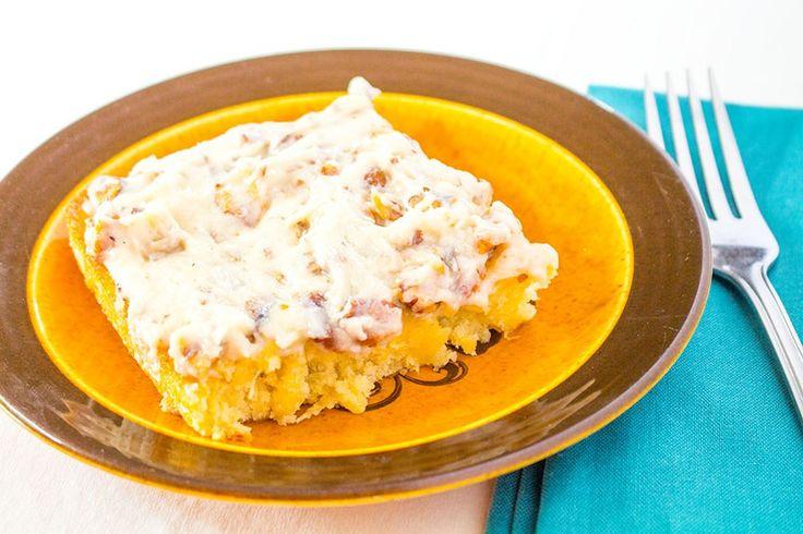 Old-fashion pineapple sheet cake recipe