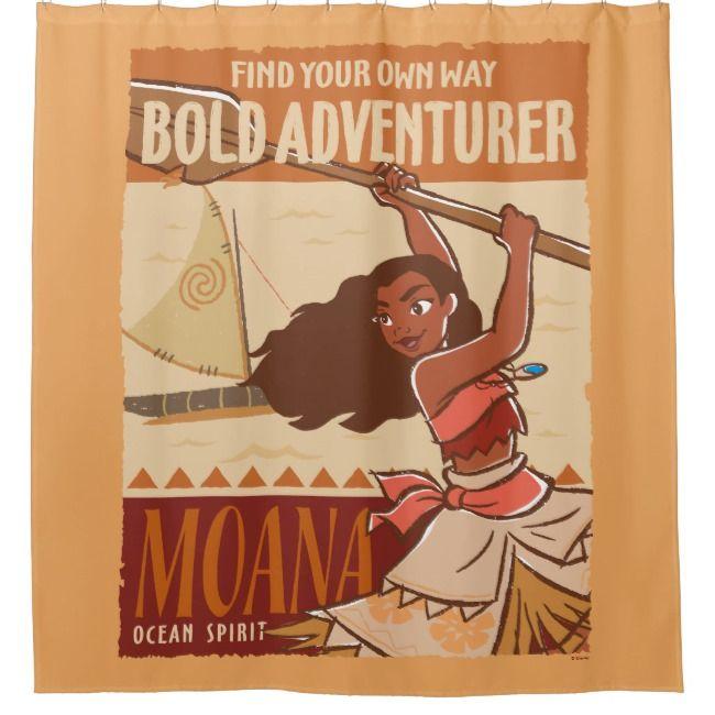 Moana Ocean Spirit Shower Curtain Ad Spon Spirit Shower Curtain Shop Moana Moana Disney Moana Moana Poster