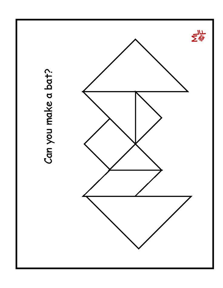 Rare image throughout tangrams printable