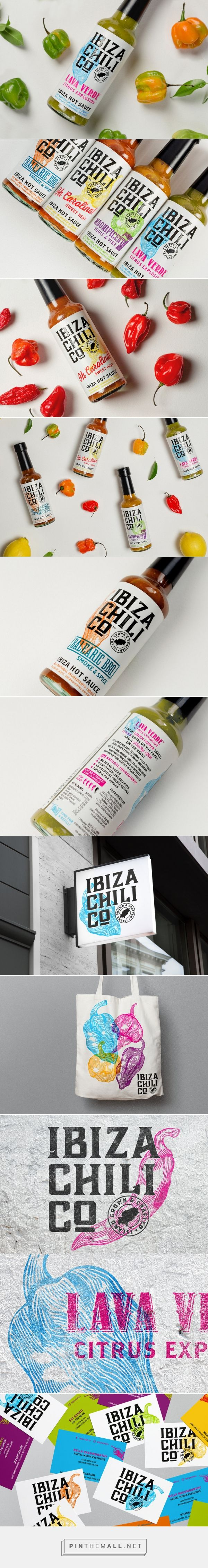 Ibiza Chili Co /  Ibiza Hot Sauces by Studio Parr