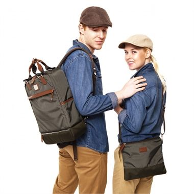 Gender-neutral and stylish nappy bags for both dads and mums! Available at www.kidsberry.com.au