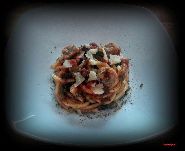 SaporInfoto: Spaghettoni Finocchietto Selvatico e Salsiccia.