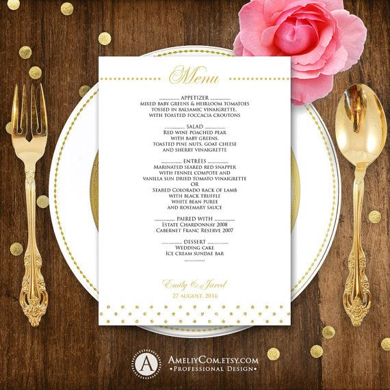 The 25+ best DIY menu cards template ideas on Pinterest DIY - menu template word free