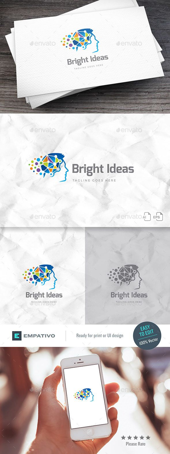 Bright Ideas Logo Template 527 best logos