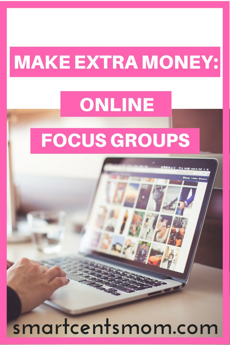 Make extra money online with focus groups! Focus groups that pay | Side hustle ideas | survey sites that pay