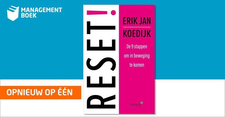 Super, het boek 'RESET!, de 9 stappen om in beweging te komen' van Erik Jan Koedijk staat opnieuw op nummer 1 in de Bestseller TOP 100 van Managementboek. #reset #erikjankoedijk #mgtboeknl #futurouitgevers