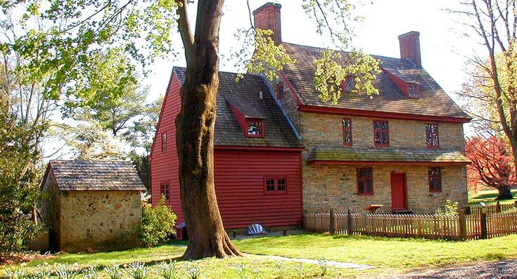 The William Brinton 1704 House is an historic house museum located in Delaware County near West Chester, PA.