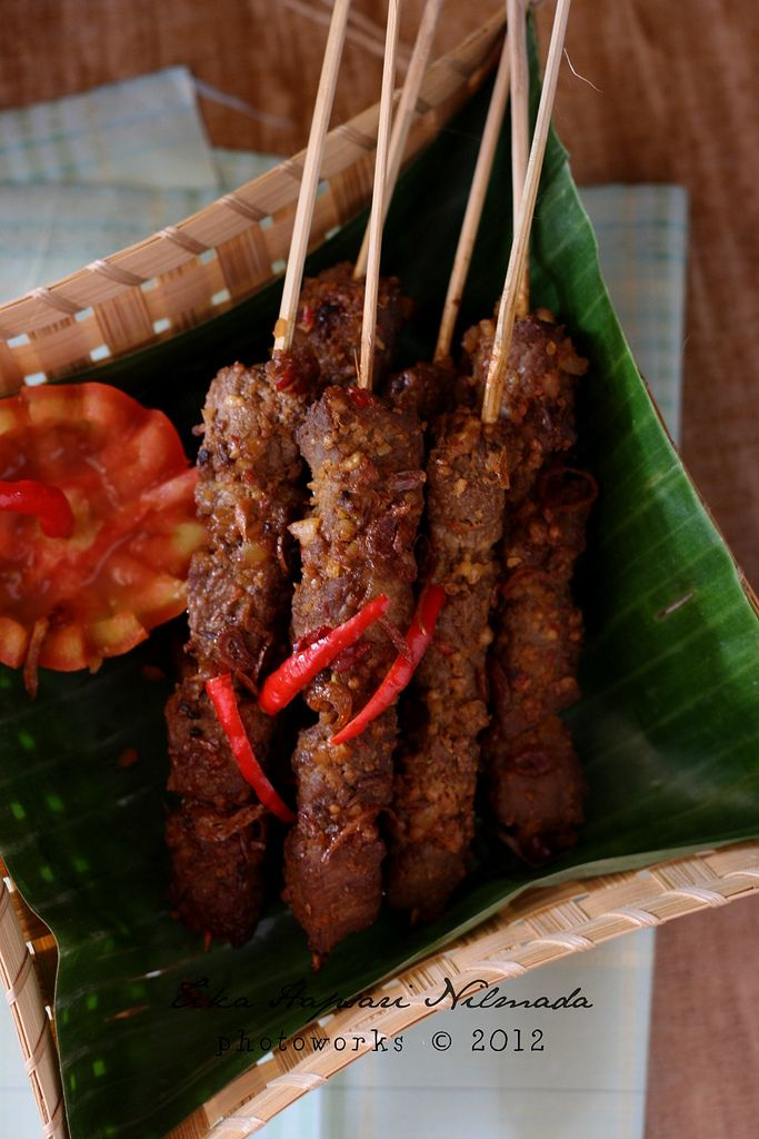 Indonesian Beef Satay | Food: Asian | Pinterest