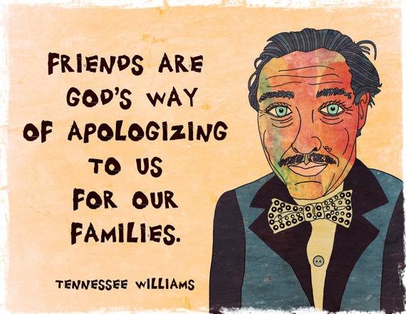 Tennessee Williams--Art Print