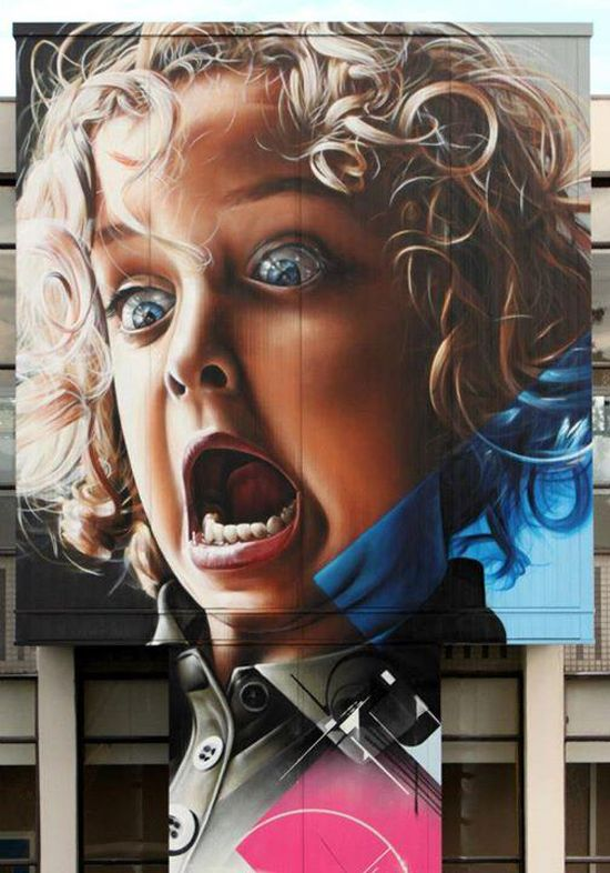 Realistic Street Art by Smug | Cuded #streetart