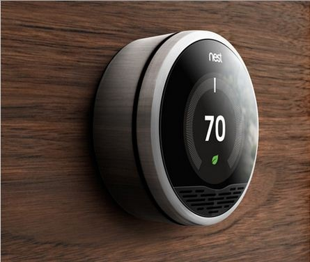 Best AMillwork Exposed Plywood Images On Pinterest Plywood - Nest thermostat apartment