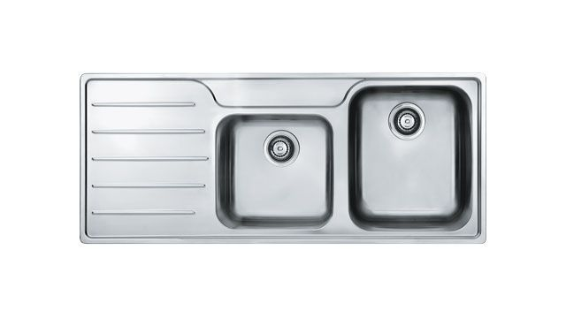 Franke inset sink - Isis SSX621 Stainless Steel.  Available in Right and Left-hand versions.  Accessories available include: Chopping board & Drainer basket.  The Franke Isis series, with its clean lines, will make a stunning alternative for the most discerning kitchen and is a real showpiece.