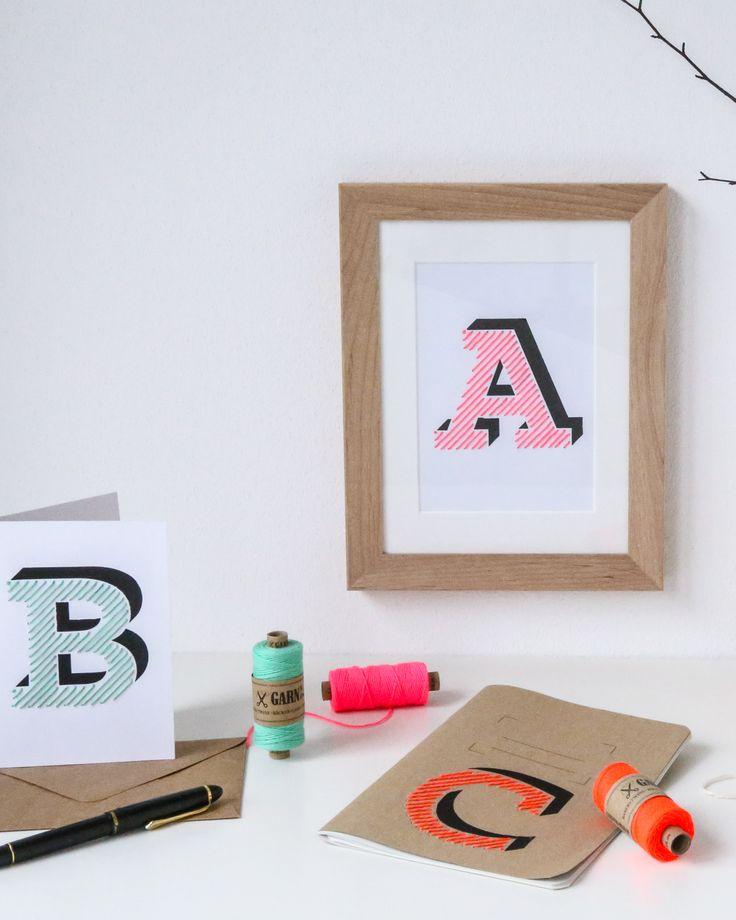 Buchstaben kinderzimmer vorlagen fadenbilder mit n geln for Kinderzimmer buchstaben