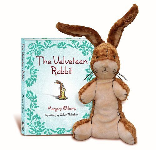 The Velveteen Rabbit Gift Set: Hardcover book and plush package by Margery Williams, http://www.amazon.com/dp/0757303552/ref=cm_sw_r_pi_dp_ELK5qb12AN5K7