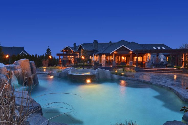 Magnificent residence in Langley, British Columbia ...