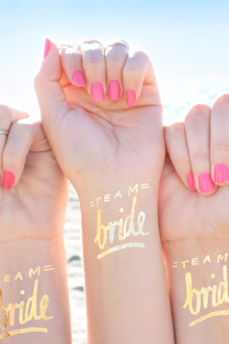 Bachelorette party gifts for you and your squad. Matching bridesmaids!