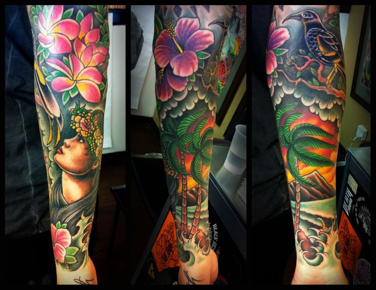 115 best images about japanese tattoos on pinterest for Tropical themed tattoos