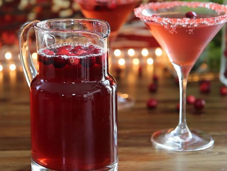 """Cranberry Martini 