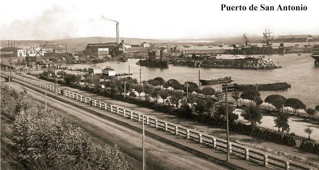 Imágenes de Chile del 1900: San Antonio, Paseo Bellamar