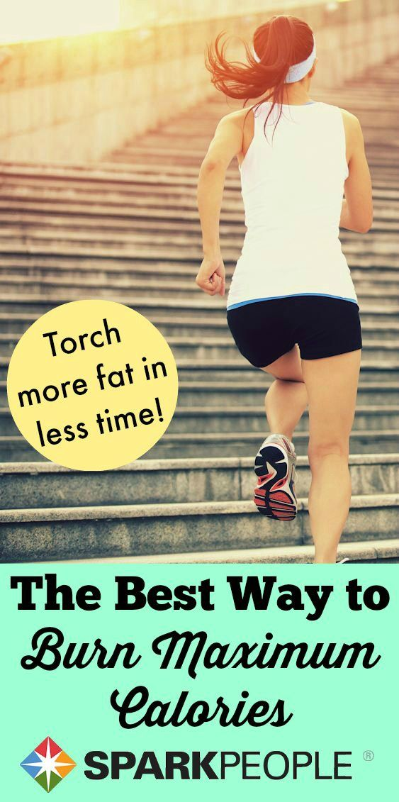 Burn more fat in less time with this mega-efficient #workout! | via @SparkPeople #fitness #exercise #getfit #health #wellness #intervals #intervaltraining
