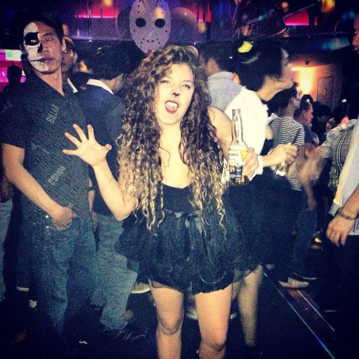 Halloween 2014, cat costume