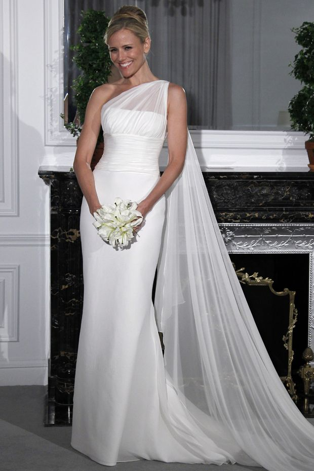 518 best one shoulder strap wedding dress inspiration images on 2014 concise wedding dresses sheath one shoulder chiffon white new style discount price usd voguepromdressesuk junglespirit Gallery