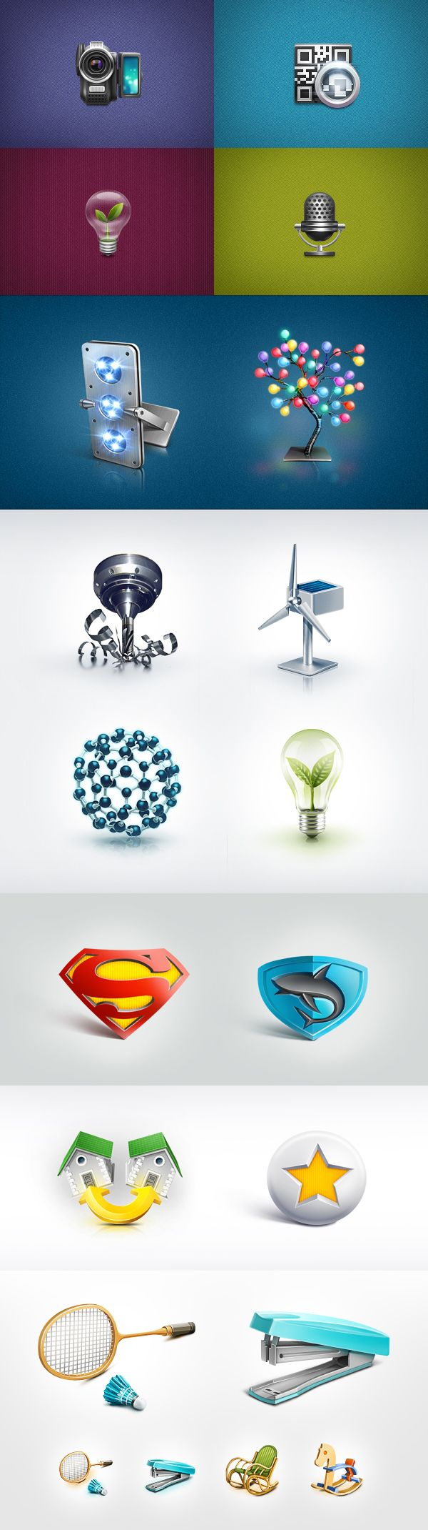 Various Icons vol.2 by Kadasarva , via Behance