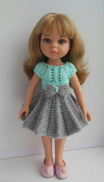 вяжем для куколок Paola Reina