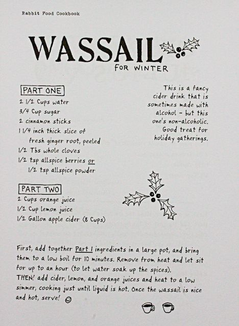 Wassail is a tradition at the Forrest home! Love my grandmother AnitaBeth!