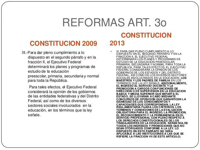 reforma del articulo 3 constitucional - Buscar con Google